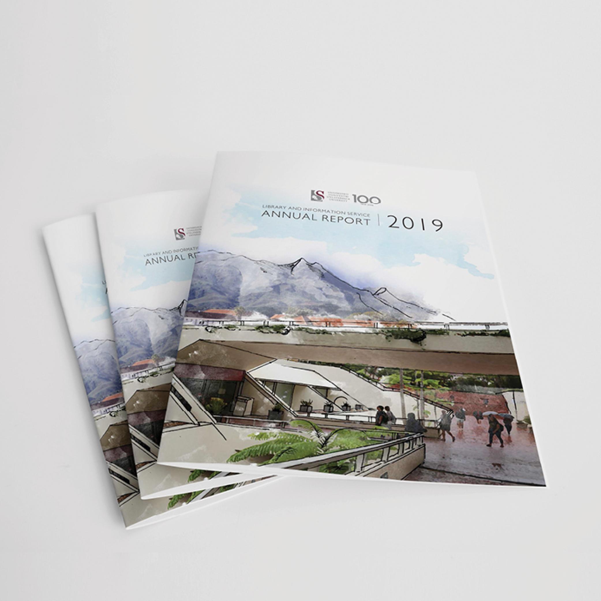 graphic design for annual report