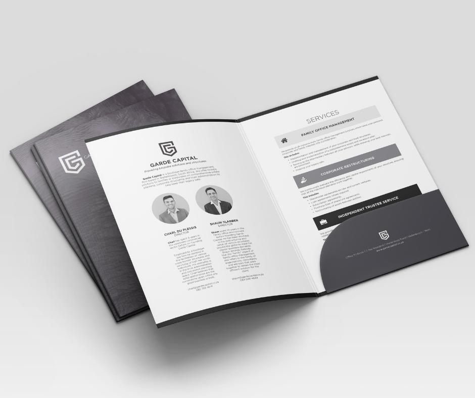 corporate orofile design and print