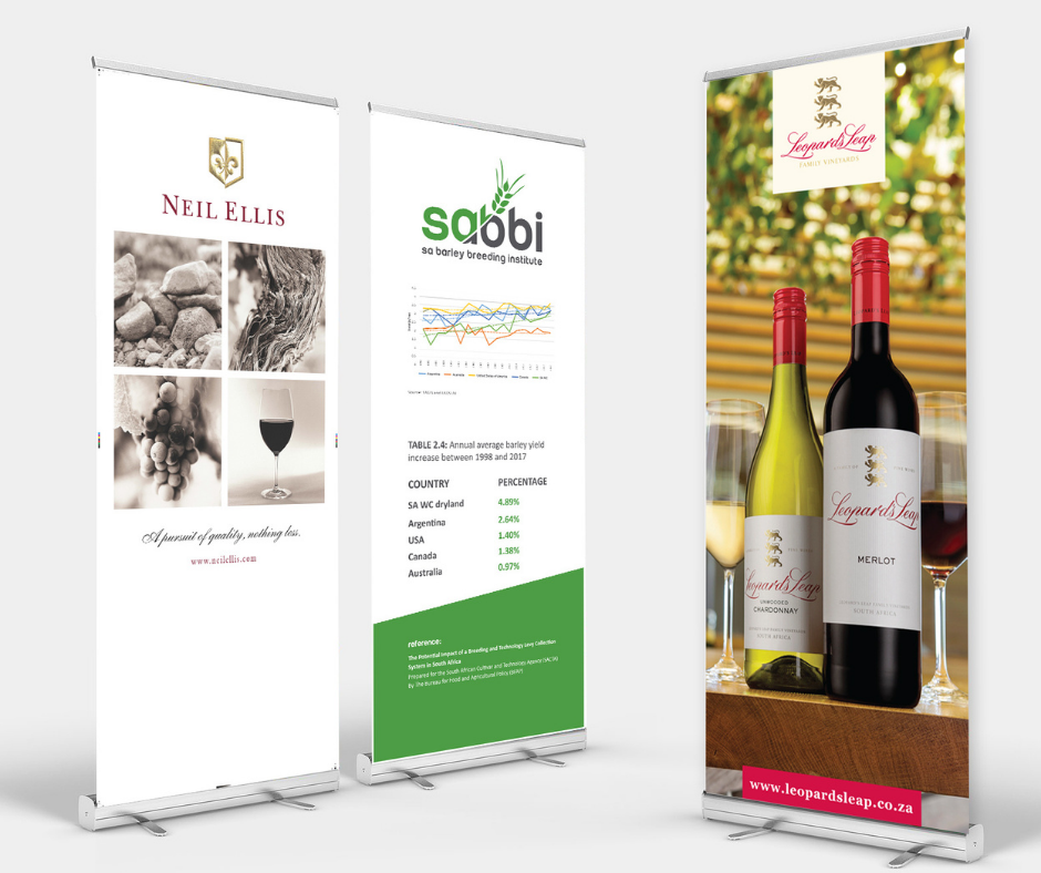 Pull up banners print and design